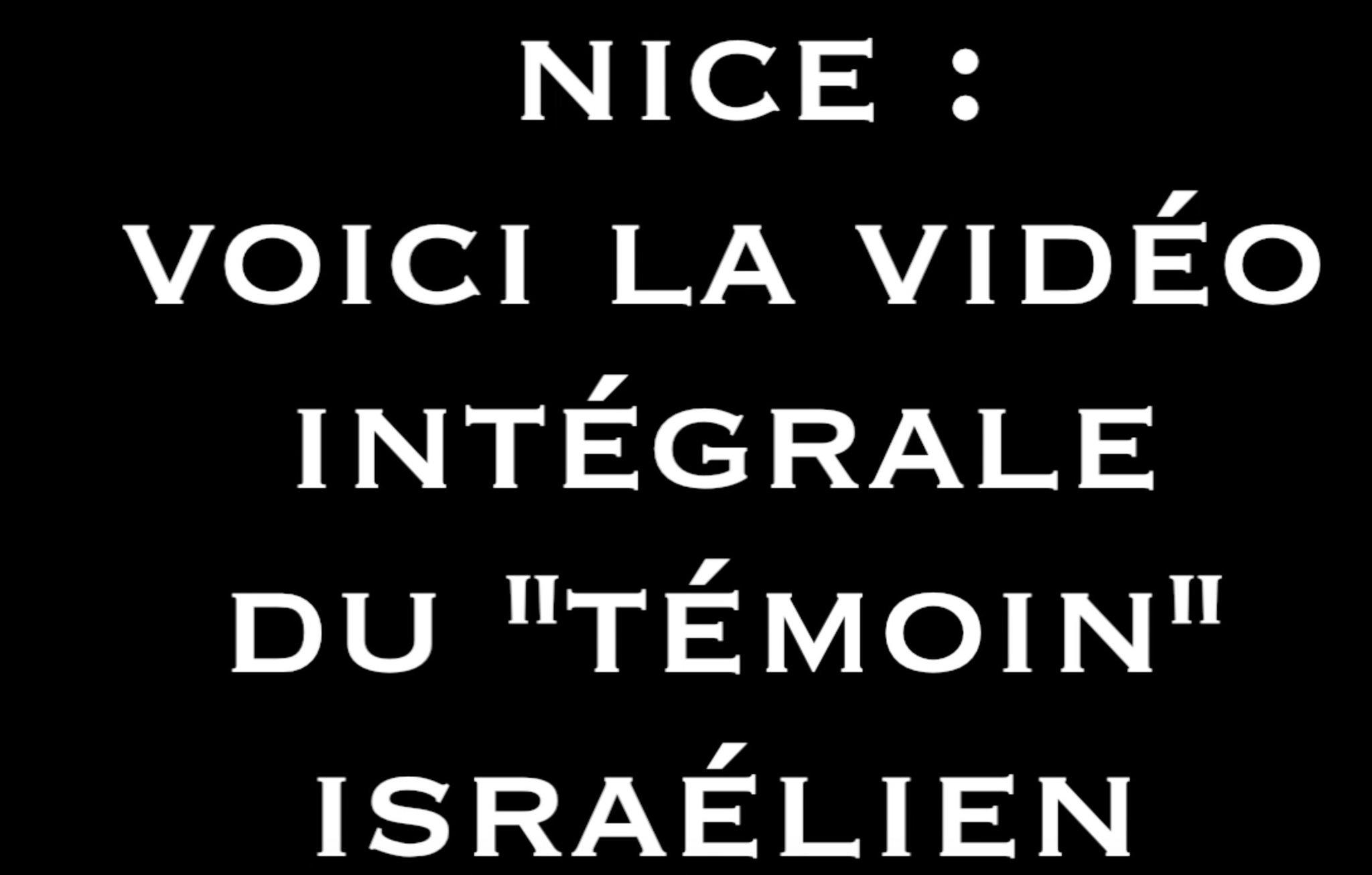 Nice : voici la vidéo intégrale du