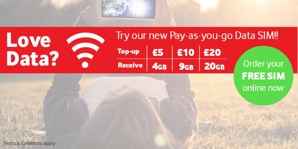 Vodafone Payg Top Up >> Airtel Vodafone On Twitter Love Data Try A Payg Data Sim