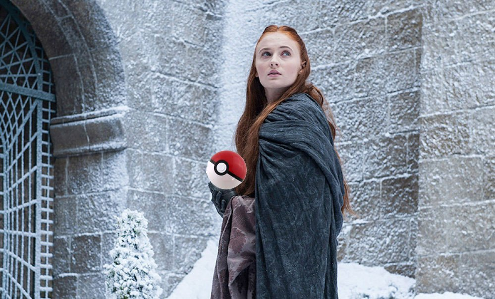Pokémon Go, Game of Thrones mash-up