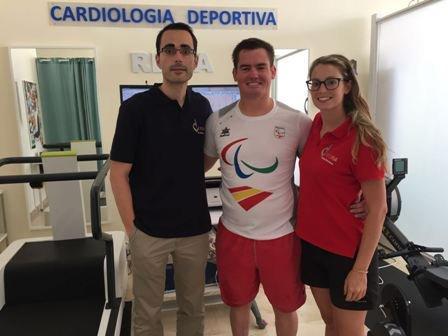 Hoy Reconocimiento al @Paralimpicos y gran deportista @RafaAndarias Corazón Sano y fuerte. Suerte en la temporada!!