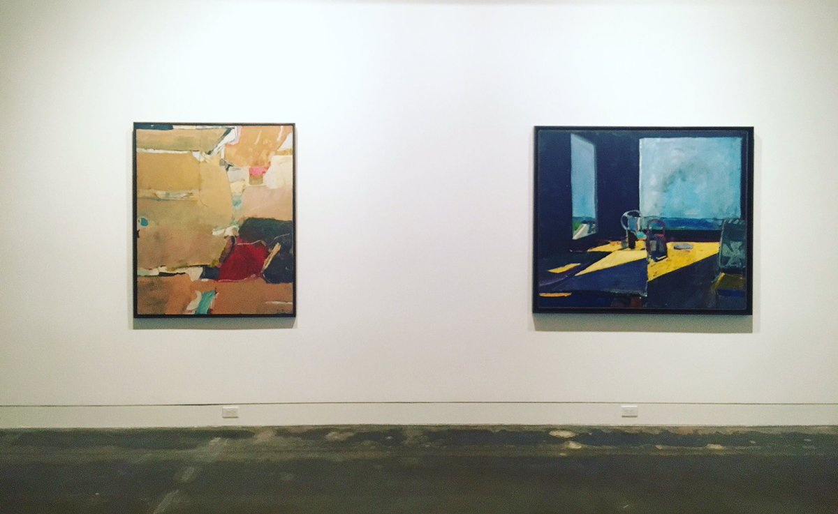 Welcome back Mr. Diebenkorn, we've missed you so. See these and other modern artworks in American Mosaic opening 8/6 https://t.co/POkad5XnKR