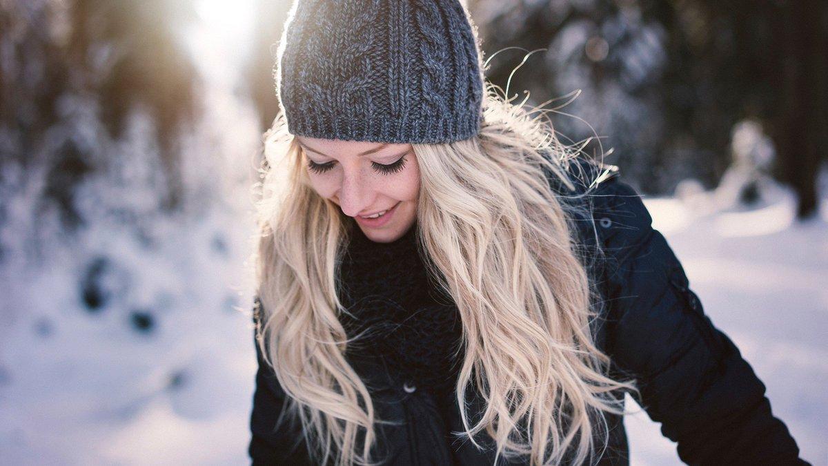 Картинки на аватарку для девушек без лица очень клевые зимой