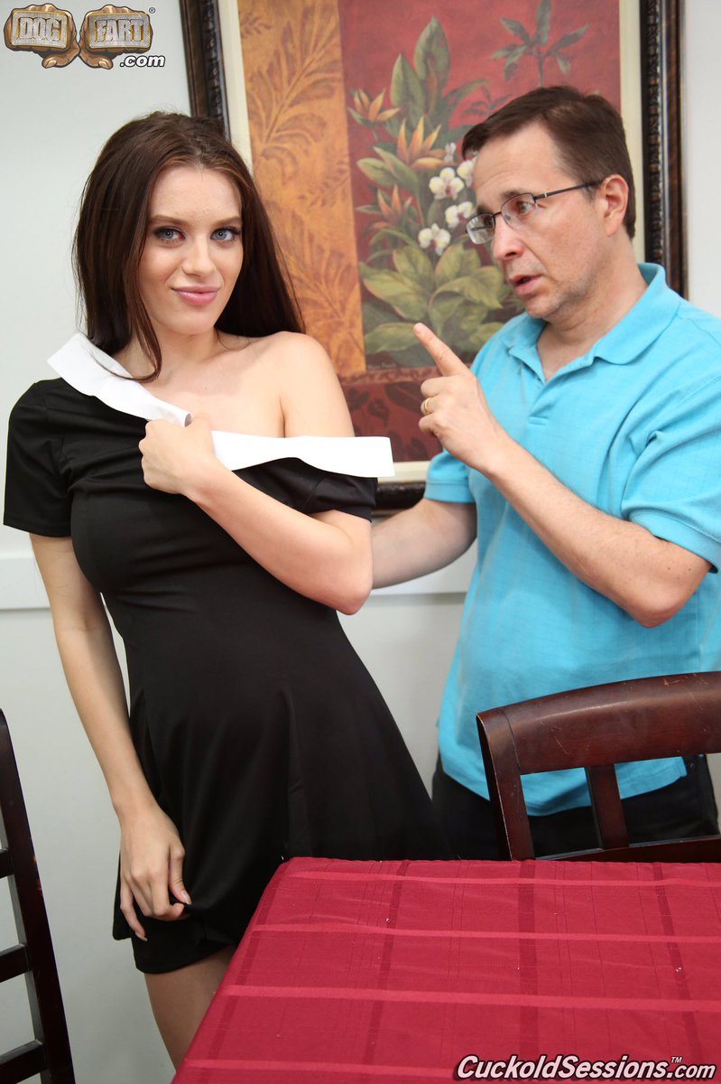 Cuckold brother and dad watch lana rhoades takes bbc