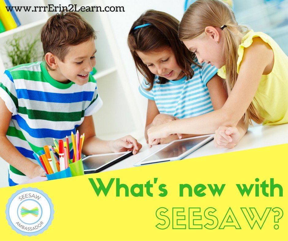 See what's new with Seesaw! #seesawchat #edtechchat #education rrrerin2learn.wordpress.com/2016/08/03/wha…