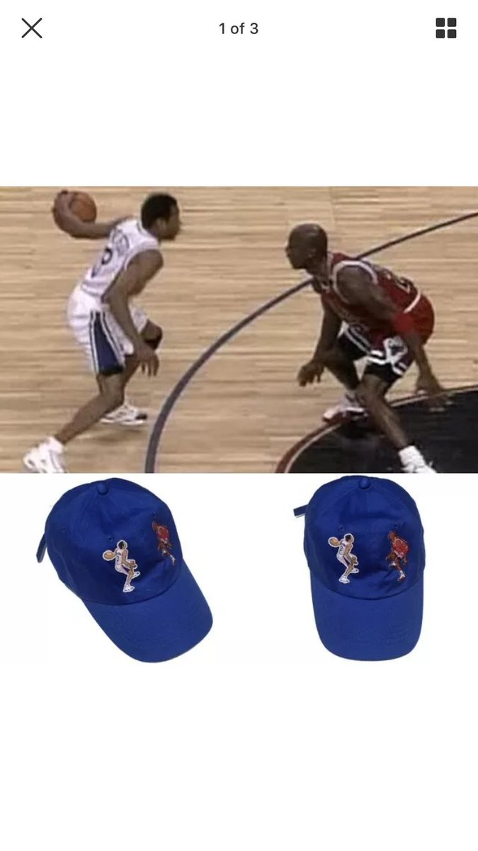 the internet is a remarkable place  labeled  allen iverson crossing over michael  jordan dad hatpic.twitter.com JjEpib59bo 2a39d600581