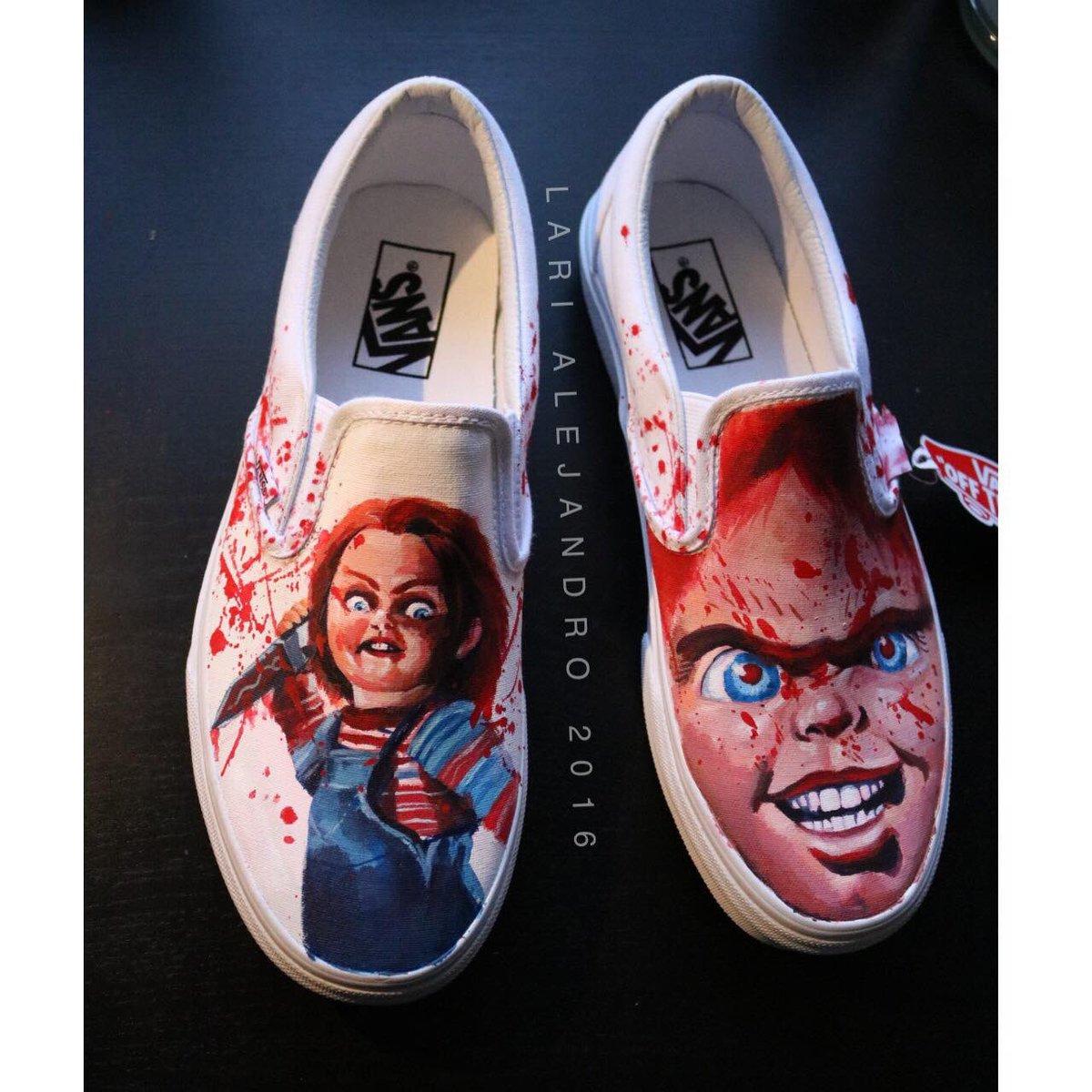 Custom Chucky shoes