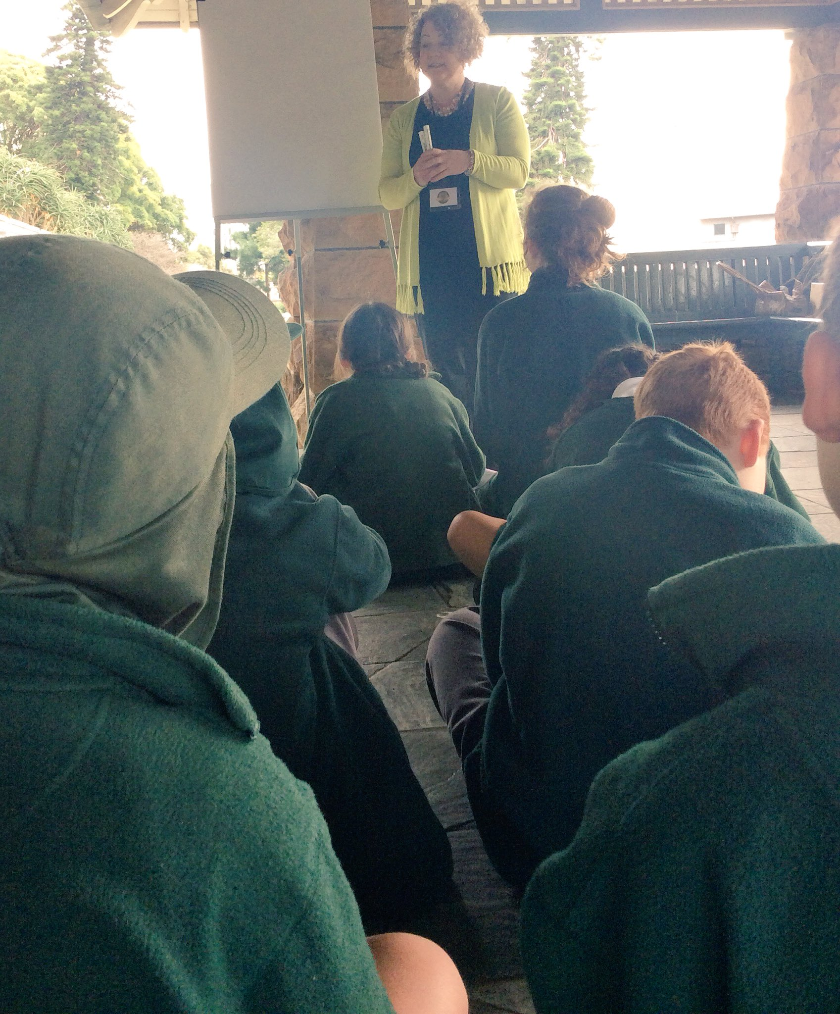 First workshop with Darcy-Lee Tindale. Students learning how to write a play #EDWEEKNSW https://t.co/bZX7YDV5Bv