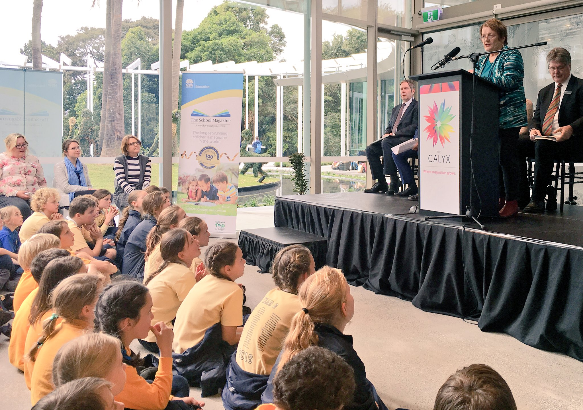 """@theschoolmag is about words, story & inspiration"" - Libby Gleeson AM #EDWEEKNSW #nsweducation https://t.co/SKLgVxAG5X"