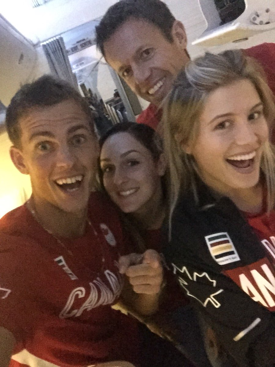 Team Canada off to Rio. Here we come! #canttouchthis