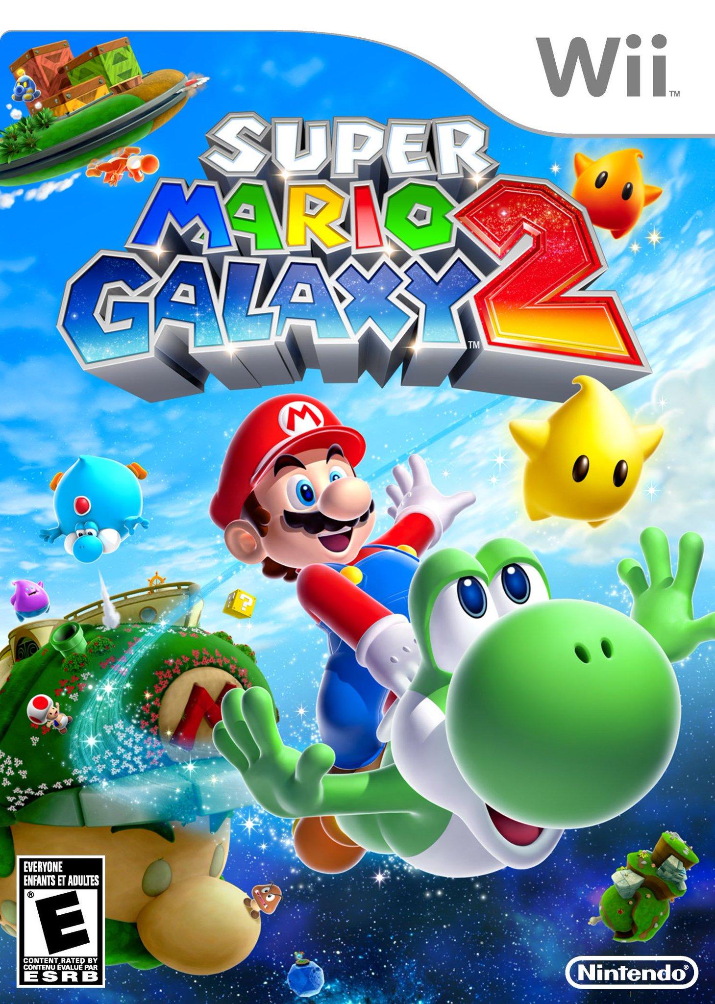 Super Mario Galaxy 2 for the Nintendo Wii https://t.co/wIJ2O3jG2U
