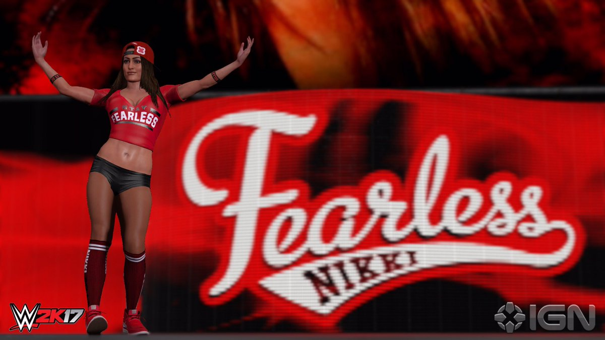 Nikki Bella - WWE 2K17 Roster Reveal