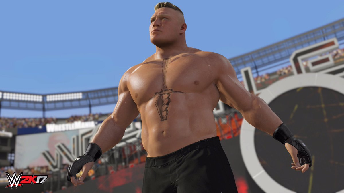 Brock Lesnar - WWE 2K17 Roster Reveal