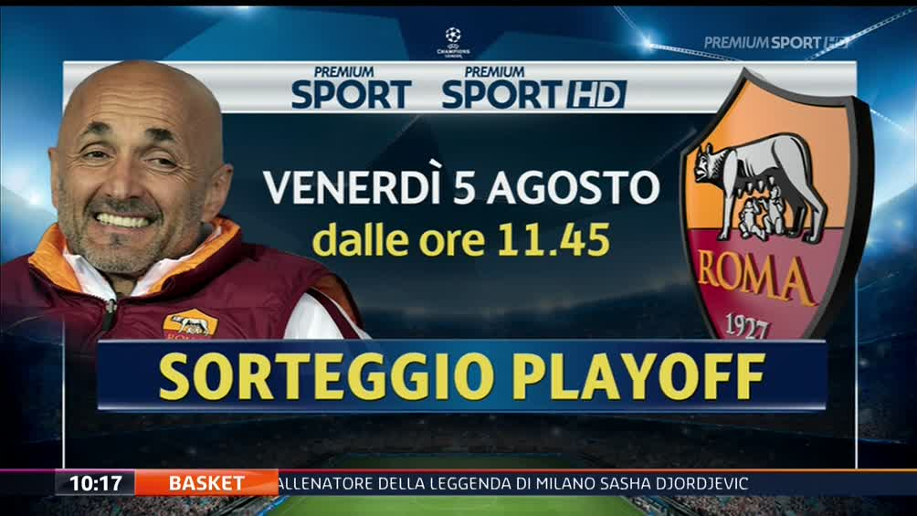 Sorteggi Champions League: Roma non è testa di serie nei playoff, dove vederli in diretta streaming