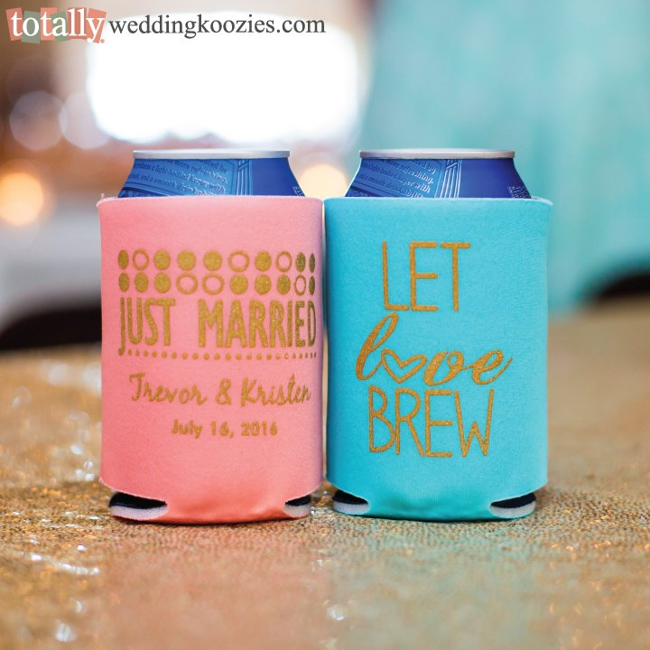 Totally Wedding Koozies.Totally Promotional On Twitter Check Out This Awesome Color Combo