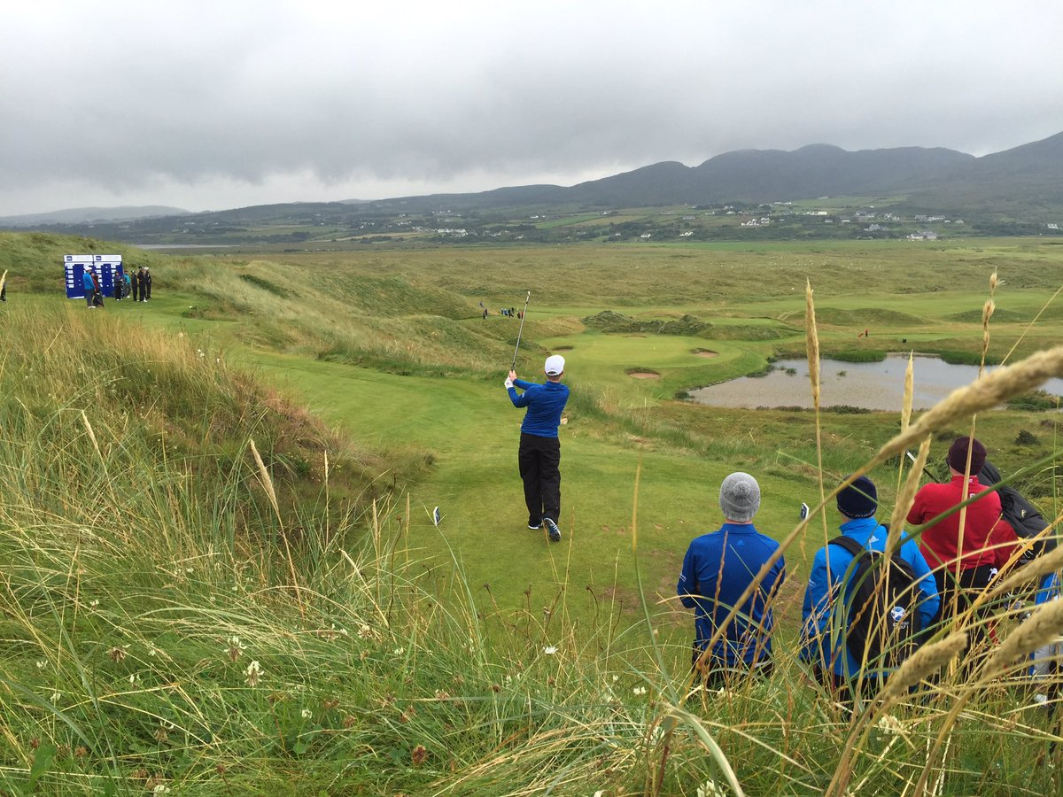'Ain't no sunshine...' on Day One of @RandA Boys Home Internationals @ballyliffin