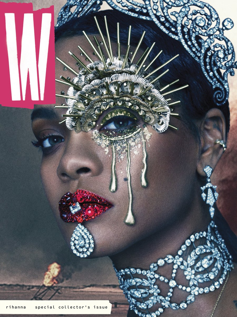 It's here. @Rihanna reigns as the last woman on earth on the cover of W's September issue: https://t.co/5llNism4MK