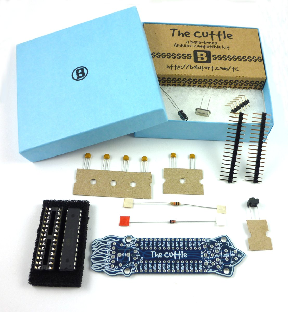 It says Cuttle but I see Cutie! :) RT @boldport: The Cuttle #BoldportClub Project #6