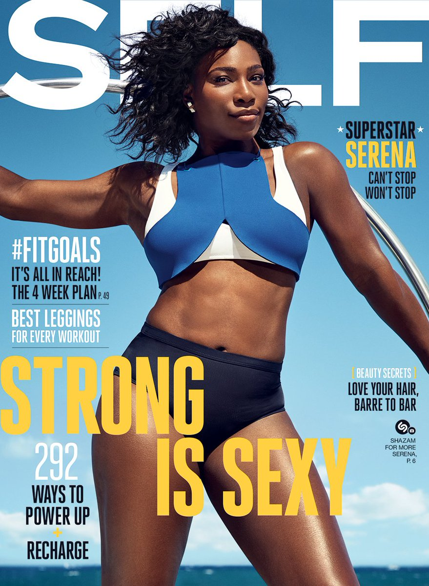 Introducing our incredible September cover star, @serenawilliams! https://t.co/hIc4CtzTG7