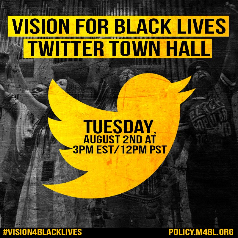 Thumbnail for The #Vision4BlackLives Twitter Townhall #m4bl #BlackPoliticsMatter