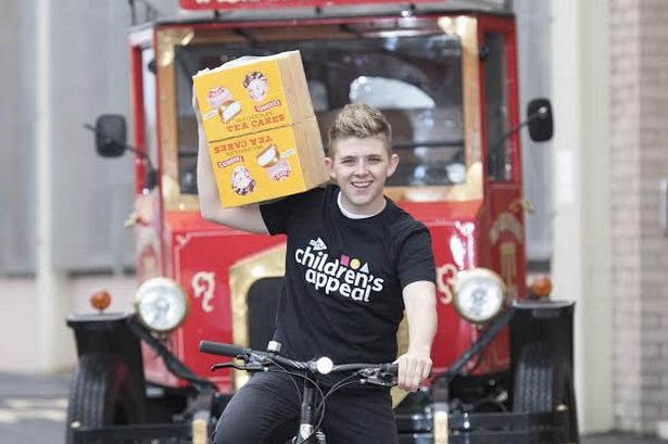 RT @HamAdvOfficial: .@TheXFactor star @nickymcdonald1 gets on his bike for charity with @TunnockOfficial  https://t.co/jwL9NjOkKt https://t…