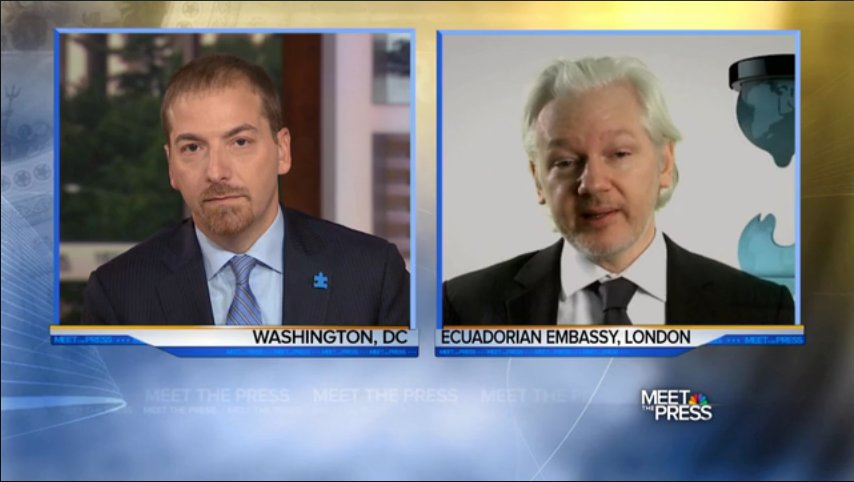 Meet the Press Grills WikiLeaks on Source, Ignores Substance of DNC Emails -  https://t.co/OhrsP6f1rj https://t.co/sSra9zvoIc
