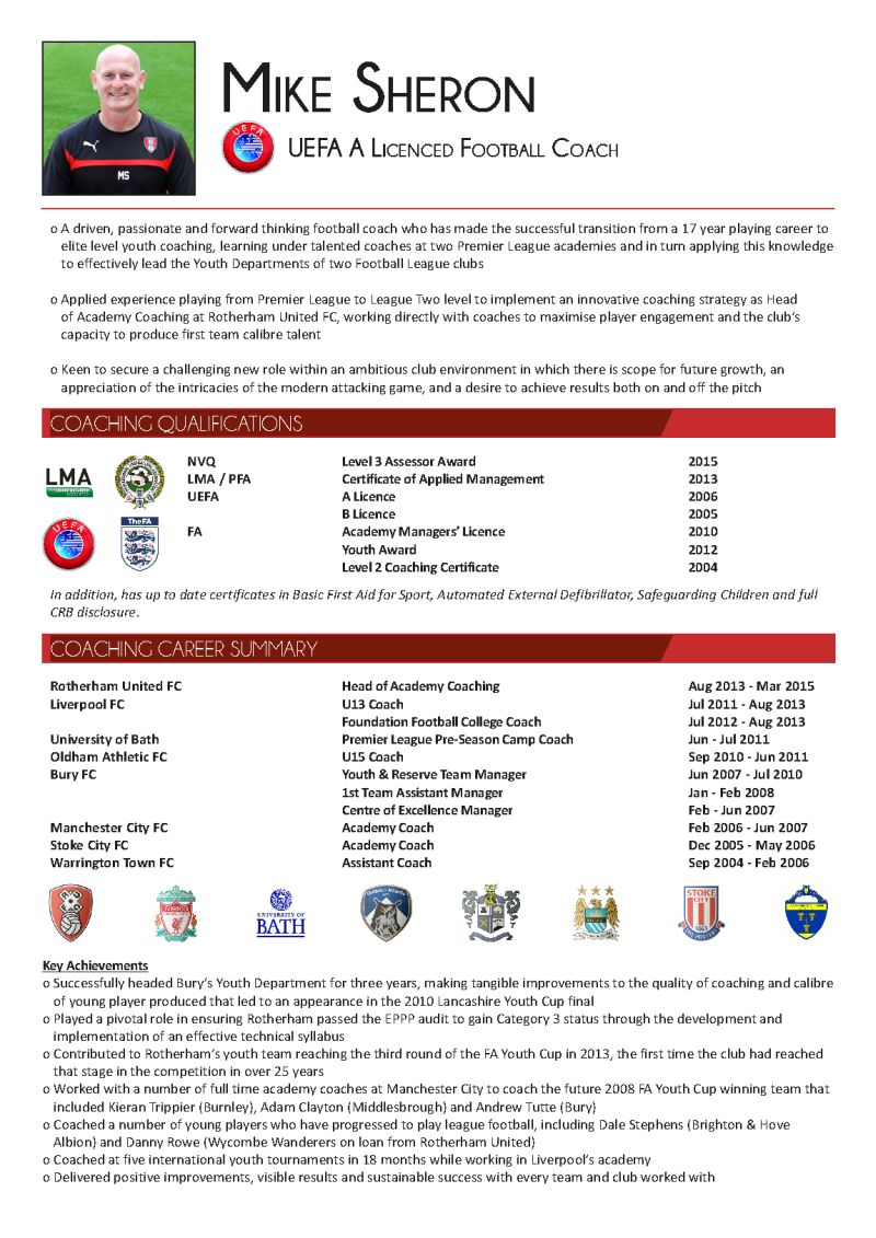 sport careers on twitter   u0026quot how good is your sports cv