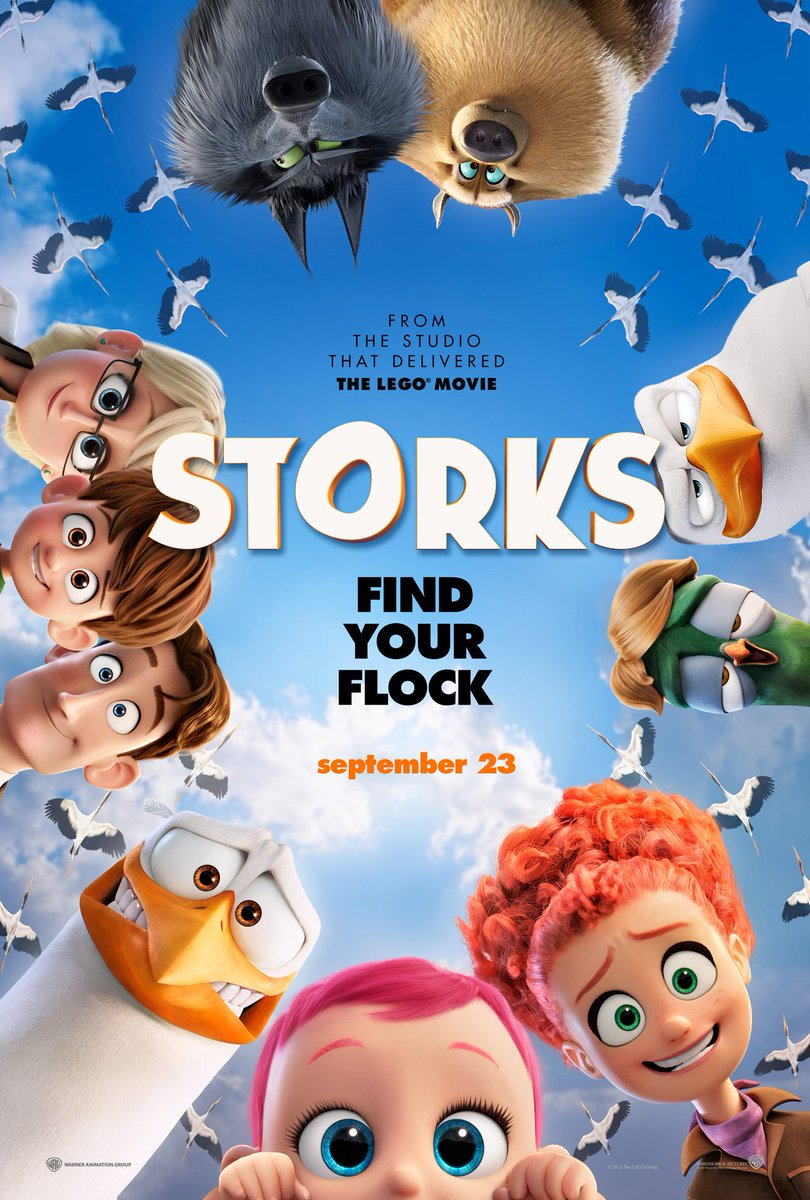 New Storks Trailer Featuring Andy Samberg & Katie Crown 3