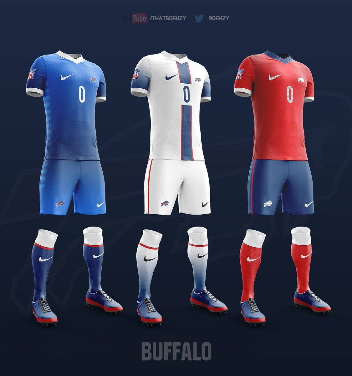 COPA90 on Twitter: quot;Some more NFL x Football Kits from @Qehzy xd83d;xde0e; https://t.co/6EuHYm9WPW…