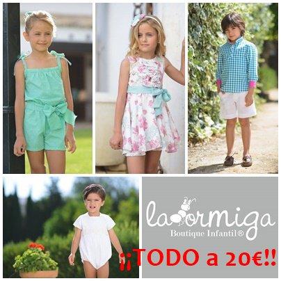 moda infantil precio unico