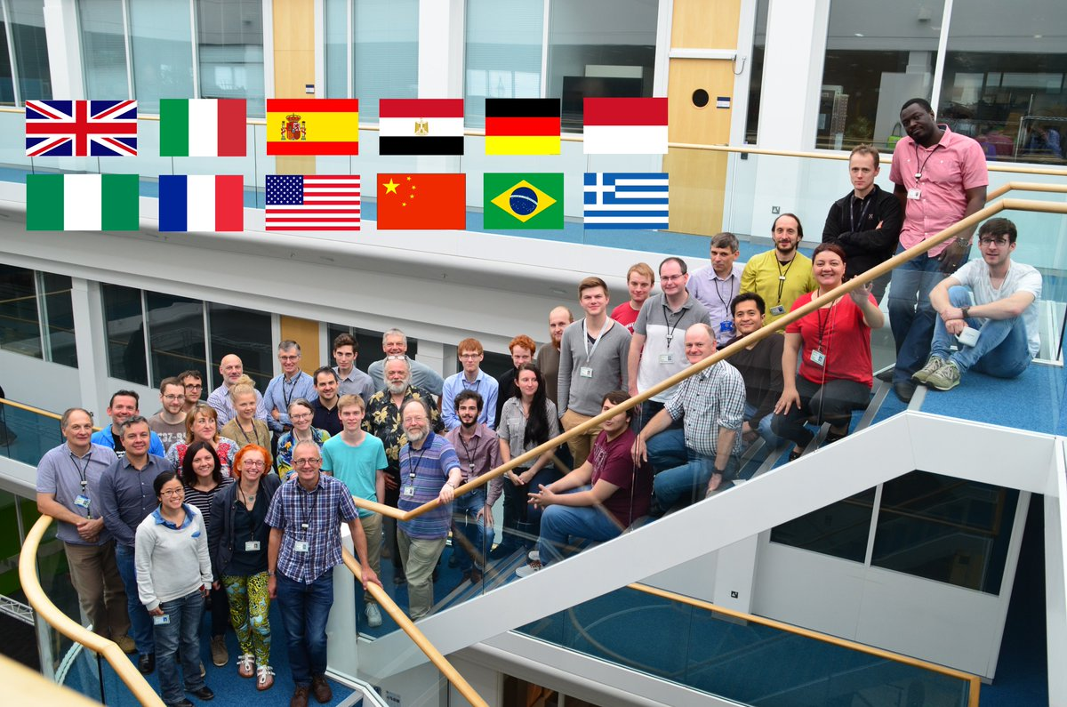 The Hewlett Packard Labs research team in Bristol reflects science itself because #Scienceisglobal @royalsociety https://t.co/wUspQvGTpk