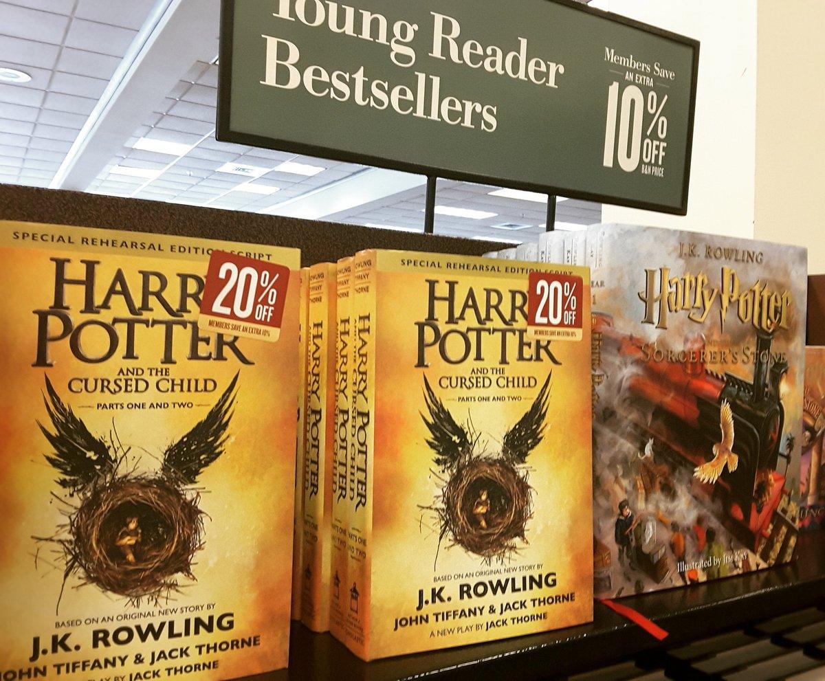 Nuovo Libro di Harry Potter vende oltre 3mln di copie