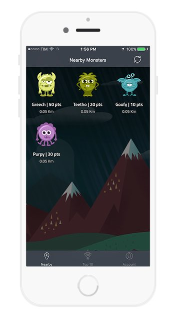 Monsuta Fitness - place virtual monsters in your school and have your students battle them with exercise #pegeeks https://t.co/XEUY75Qb0h