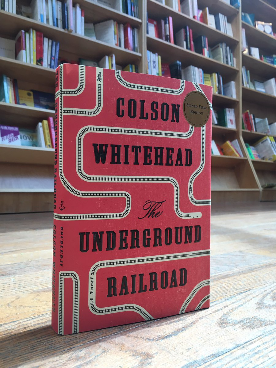 We've got signed copies of @colsonwhitehead 's @Oprah Book Club pick, The Underground Railroad. https://t.co/oyshNb4Ruy