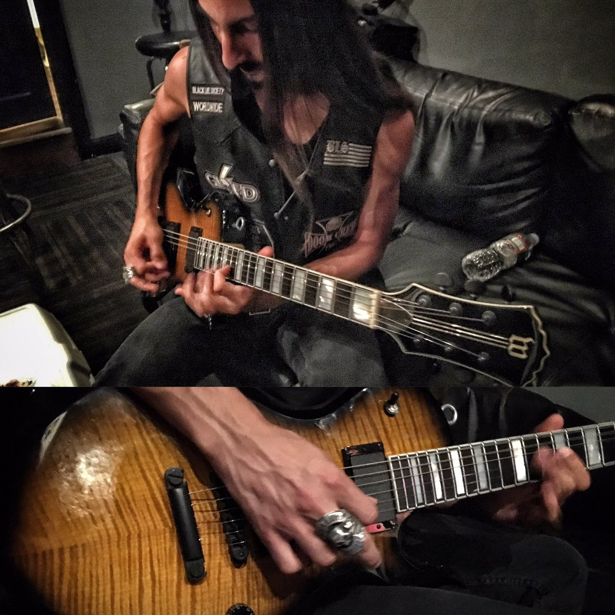 Jammin' on the @zakkwyldebls @wyldeaudio ODIN!