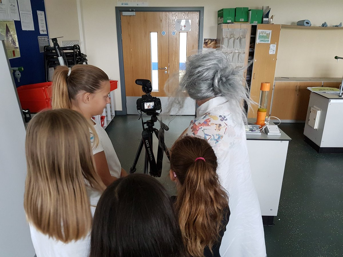 A mad scientist, zombies & superpowers...can only mean that it was movie trailer day @SmeatonAcademy Summer School!