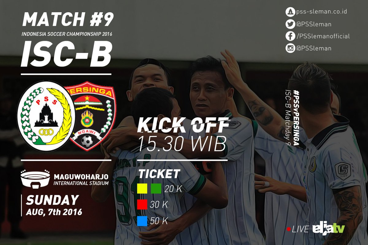 "Persija Vs PSS Sleman Twitter: PSS Sleman On Twitter: ""Next Match"