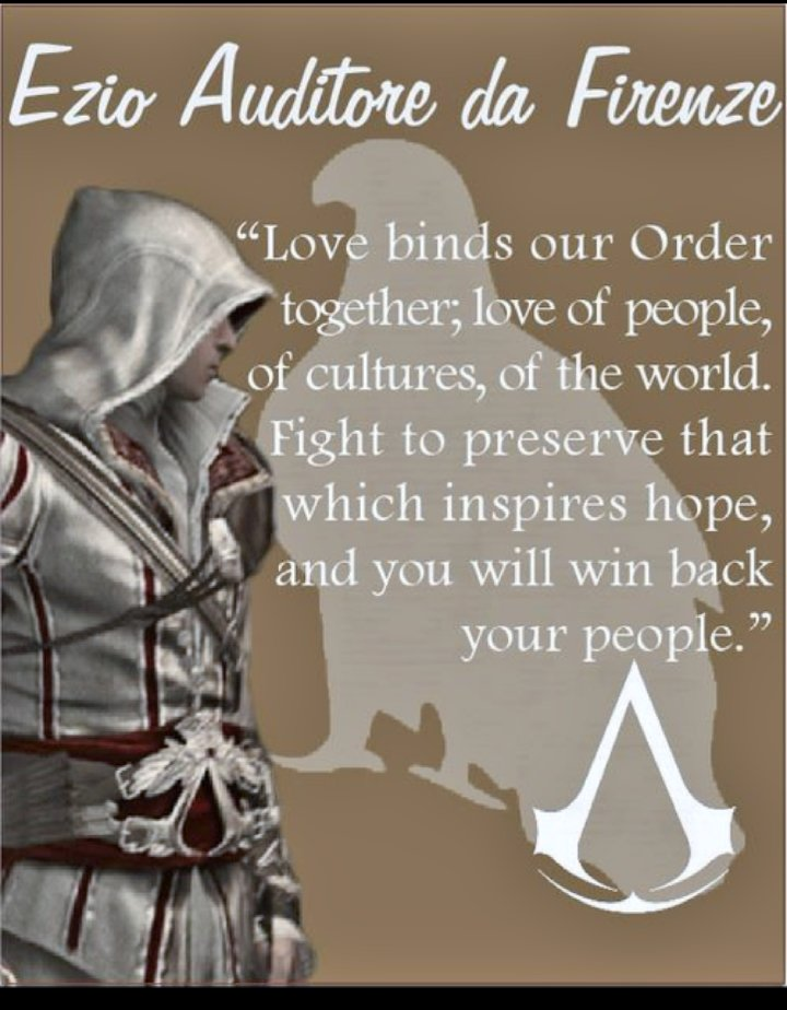 The Vampire Queen On Twitter Ezio Auditore Da Firenze