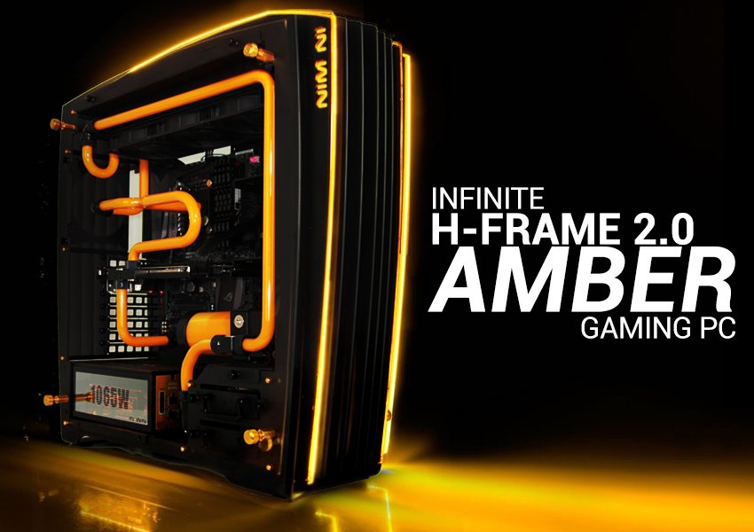 The New AMBER Gaming PC Featuring The In Win H Frame 2.0 Chassis  Http://bit.ly/2asZXMy Pic.twitter.com/Ram7K5XSxd