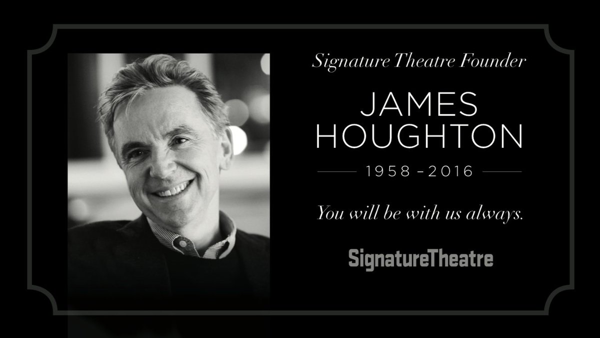 Our brilliant, kind founder Jim Houghton has passed away. Our thoughts & love are with his family. We love you Jim. https://t.co/XkyK27hnJs