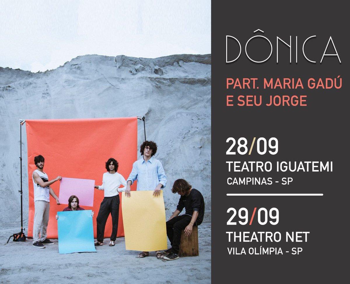 Datas novas! Dia 28/9 em #Campinas e 29/9 em SP. Com participações de @mariagadu e @soujorge https://t.co/GUbbS9PWpZ