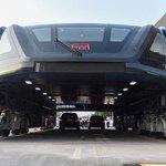 未来感ハンパない!中国の空中路面電車が色々ぶっ飛んでて期待度高い!www