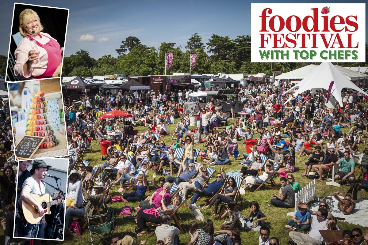 WIN pair of VIP tickets for @foodiesfestival #Edinburgh 5-7 Aug. Just RT to enter by 1pm today. Yummy! #win https://t.co/Gfztb6Mi5z