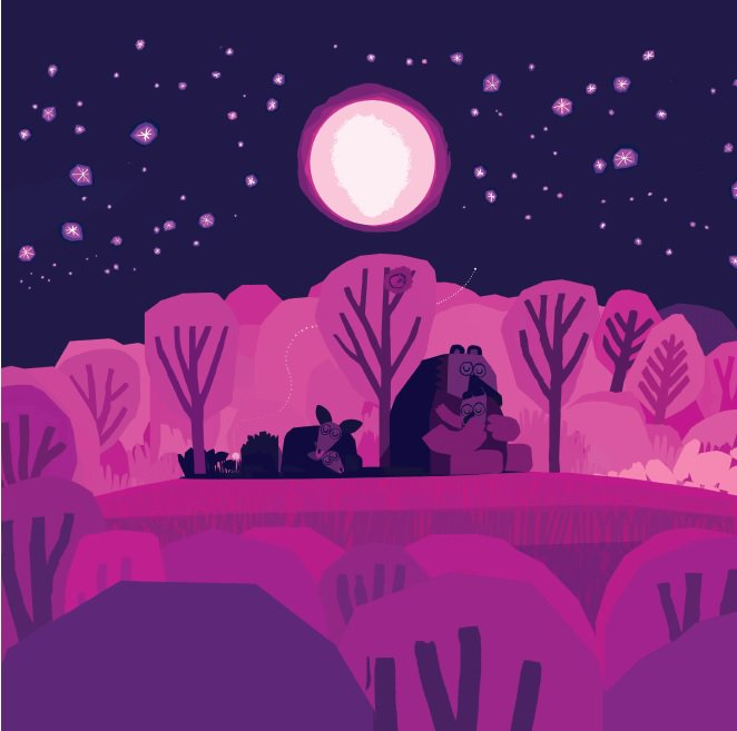 bigpicturebooks nobody draws a sparkling night sky quite like chris haughton goodnight everyone is out tomorrow cantwait