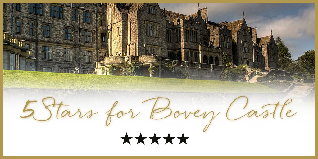 We are delighted to announce that @BoveyCastle has been awarded #5stars by @AAHospitality, https://t.co/lo7PioIwaJ https://t.co/0md69Hjy0Y