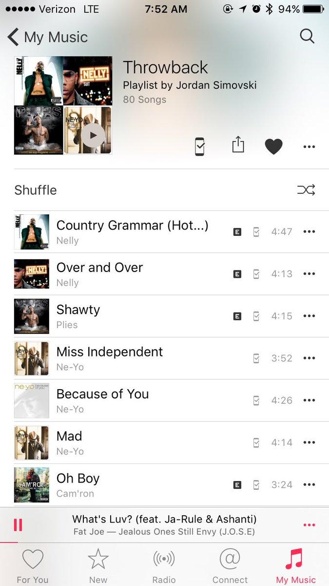 Hookup playlist