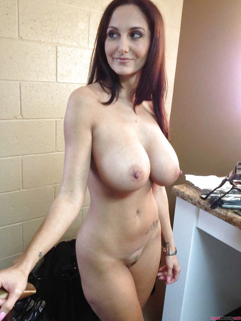 Hot milf with natural boobs