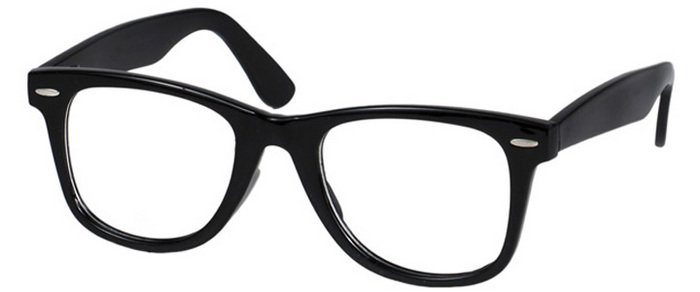 Black Frame Accessory Glasses : Hipsters get schooled with #HipsterSchoolSuppliesList ...