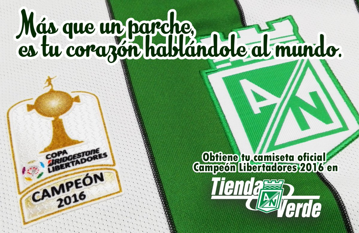 0087ea851ecd4 Atlético Nacional on Twitter
