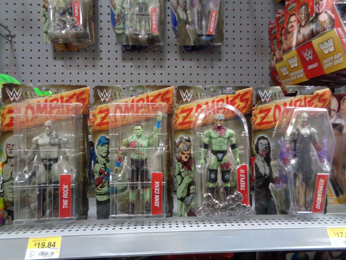 Walmart Wwe Toys : Wwe zombie figures are at walmart wrestlingfigs