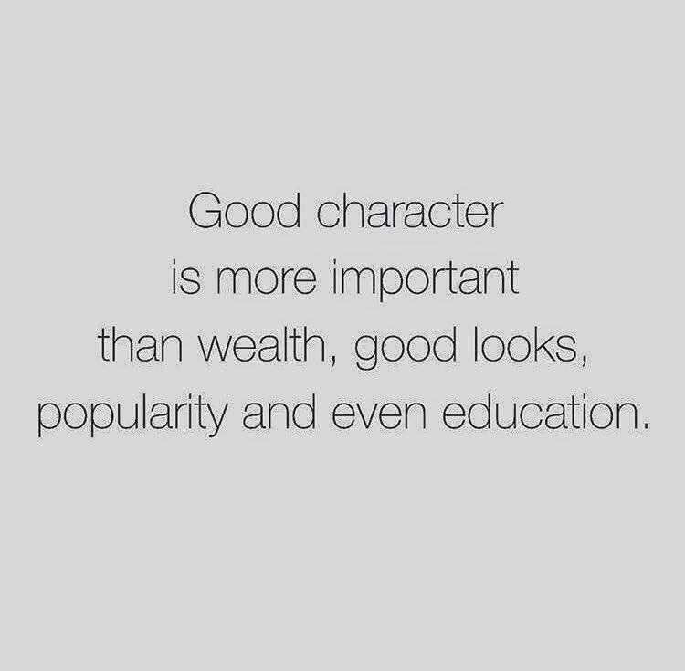 is character education is more important today Character education is a national movement creating schools that foster ethical,   the intentional teaching of good character is particularly important in today's   they are bombarded with many more negative influences through the.